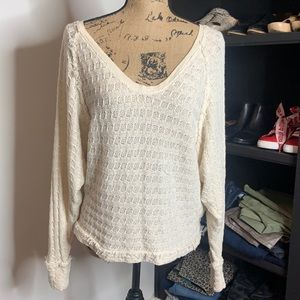 Free People open weave too, size small